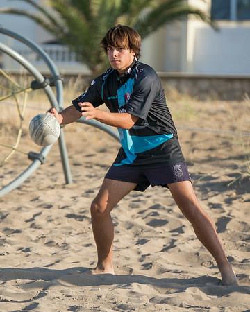 Denia Beach Rugby Practice - July 3, 2014