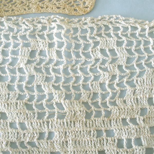 Items crocheted by Susan Veronicia (Lukens) Keating.