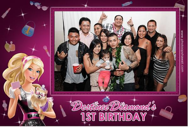 Destinee's 1st Birthday (Party Portraits)