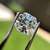 3.30ct Vintage Asscher Cit Diamond GIA J VS1 31