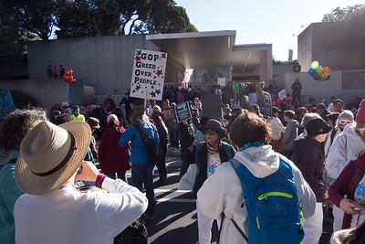 2018-01-20 Women's March - Oakland