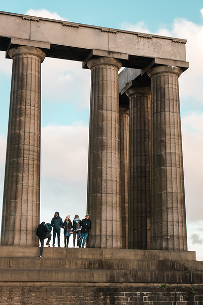 2019-10-29 Edinburgh Castle & Nelson Monument