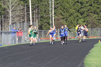 Manton Invite Girls 400 Relay