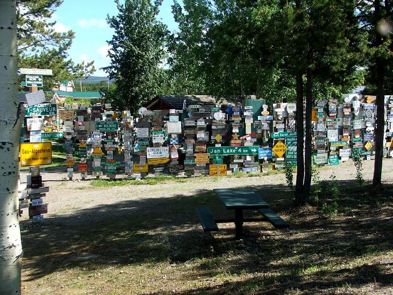Watson Lake, Yukon Territory