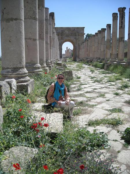 At Jerash, Jordan