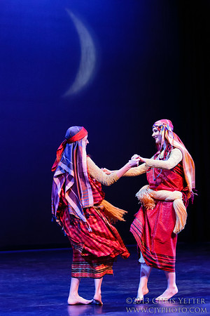 Dances Under the Crescent Moon with ANAR 2013