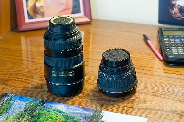 Lens:  Nikon 17-55 f/2.8 DX (vs Tokina 17mm f/3.5 & Nikon 50mm f/1.8 AIS)