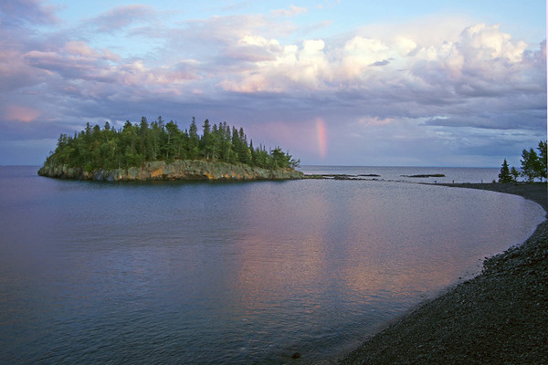 August 31, 2008 Rainbows Over Lake Superior