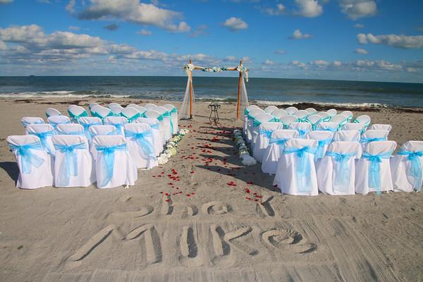 Amy and Dan's Cocoa Beach Wedding at Surfside Wedding Chapel!
