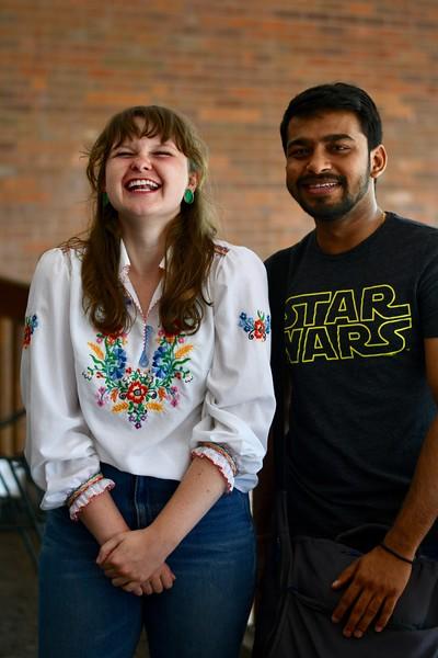 Paige Looney and Vansh Patel