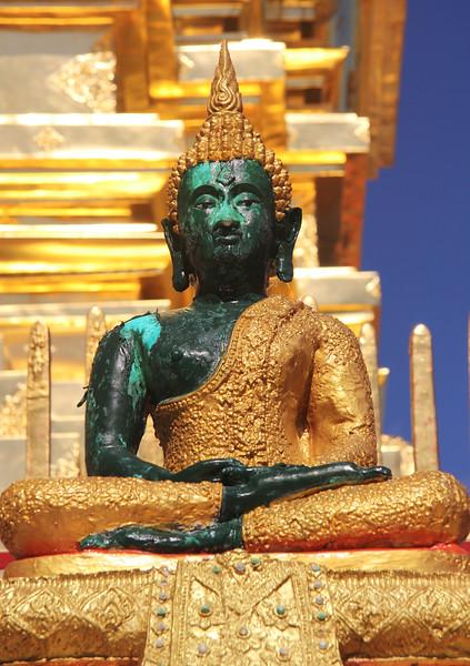 Buddha at Wat Phra That Doi Suthep - Chiang Mai