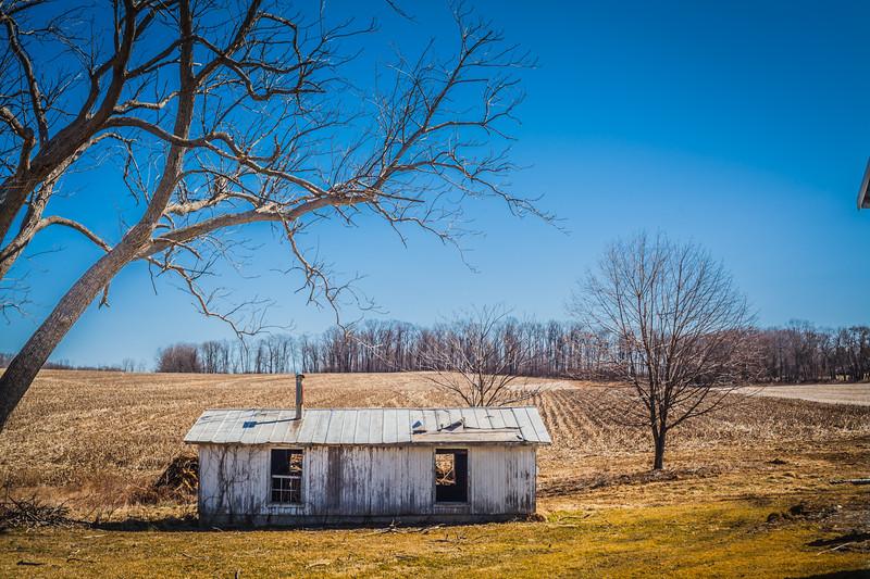 Lenhartsville, Berks Co, PA, rolling hills, farmland, scenic