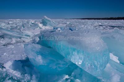 Lake Superior Snow Drifts