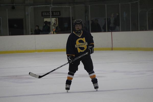 Pee Wee A1 hockey vs. N Lights 11-25-11