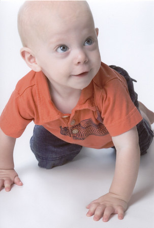 Braden's One Year Photo Shoot