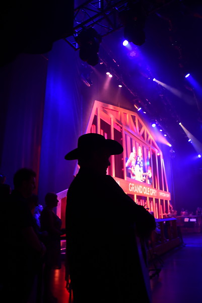 Grand Ole Opry Backstage