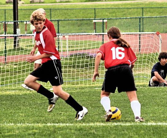 St. Theresa's 7-8 Soccer vs. St. Stephens 4.3.2008