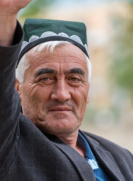 Portrait of Uzbek Man