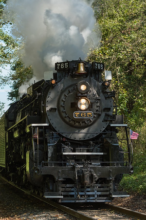 Nickel Plate Road 765 Steam Locomotive