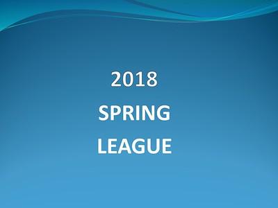 2018 Spring League