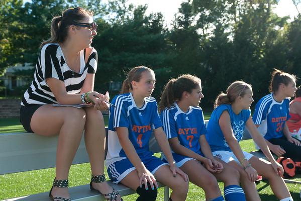 2011-09-09 Dayton Girls Varsity Soccer vs Kent Place School #1 of ?