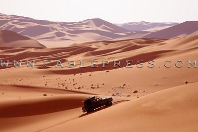 Las dunas de Libia Erg de Murzug
