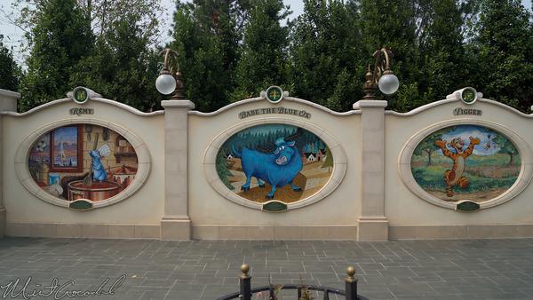 Shanghai Disneyland, Shanghai, Disneyland, Gardens Of Imagination, Gardens, Imagination, Garden of Twelve Friends, Twelve, 12, Friends