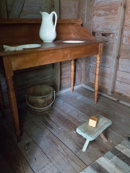 Washroom. Liberty Hall plantation. Kenansville, NC.
