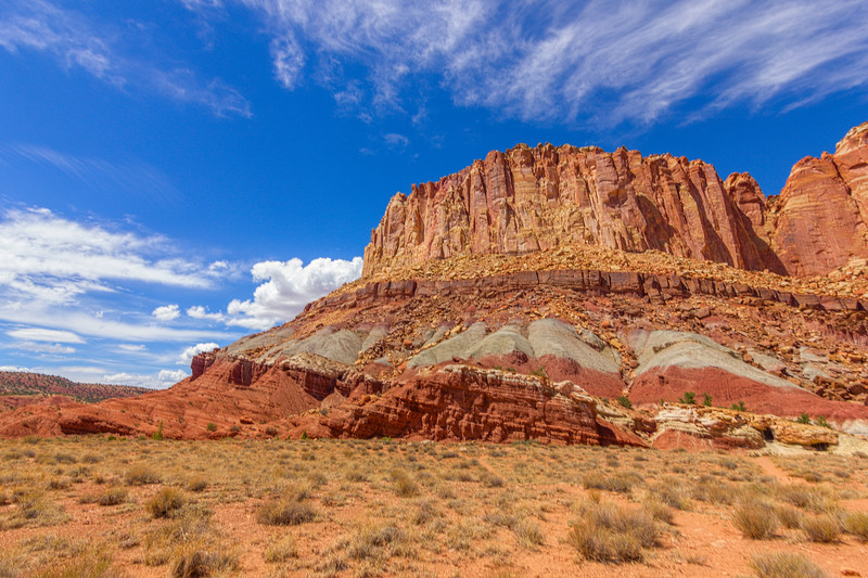 The Grand Wash in Capitol Reef