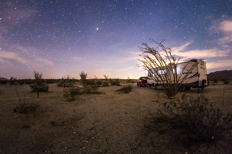 Camping in Anza-Borrego Desert State Park