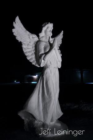 St. Pat's Snow Sculpture