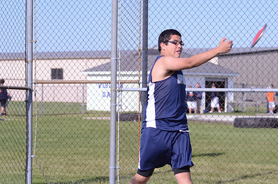 Oswego East boys track and field Vs Oswego 2012