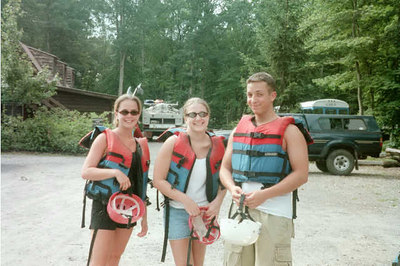 2000 Summer BCC Whitewater Rafting