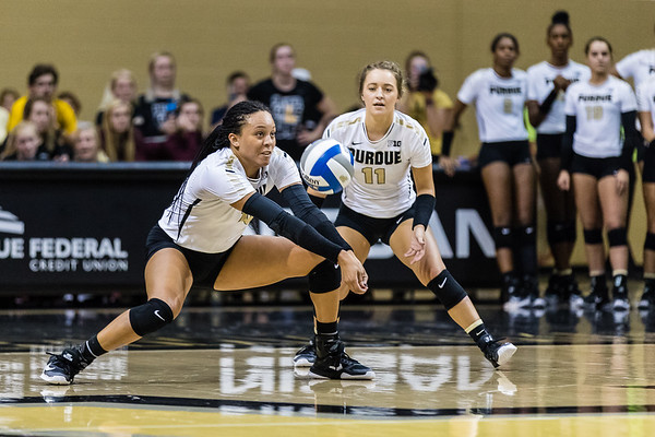 Purdue Volleyball vs Miami-Ohio 2017-9-15