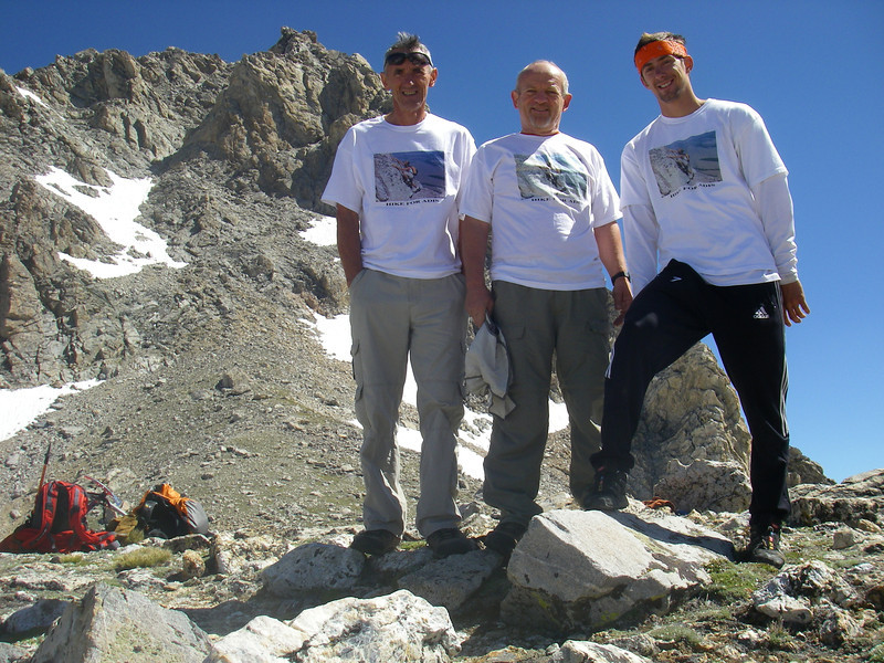 Middle Teton (12,804ft - 3.902m) is behind us.