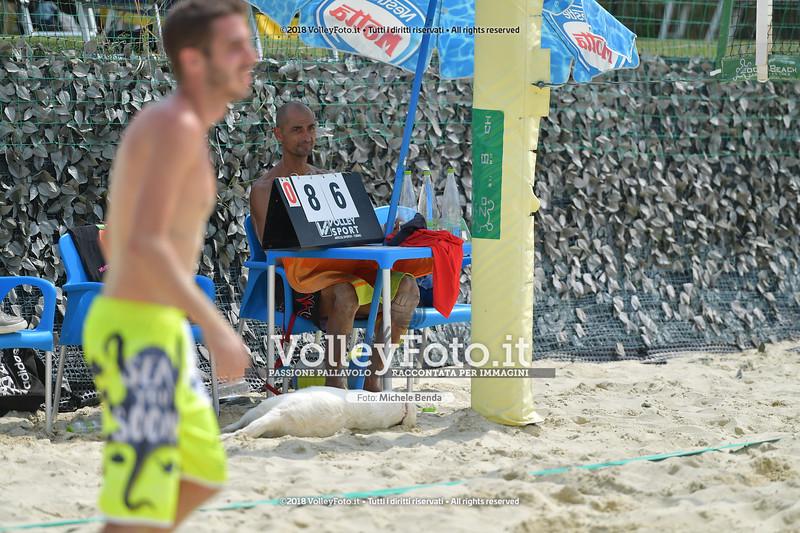 """5ª Edizione Memorial """"Claudio Giri"""" presso Zocco Beach San Feliciano PG IT, 25 agosto 2018 - Foto di Michele Benda per VolleyFoto [Riferimento file: 2018-08-25/ND5_9218]"""
