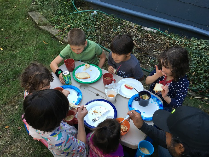 Sukkot kids table