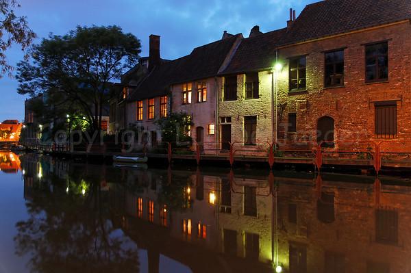 Ghent/Gent (Belgium) By Night
