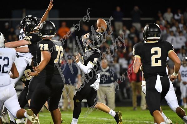 Berks Catholic VS Wyomissing High School Football Senior Night 2017 - 2018