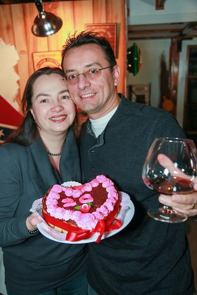 Dan & Claudia 20 years marriage celebration - December 04, 2010