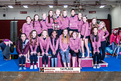HS Sports - Gymnastics - Cardinal Invite [d] Feb 06, 2016