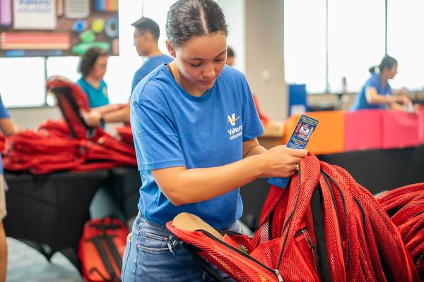 Valero Stuffs 2,400 Backpacks for EISD Students