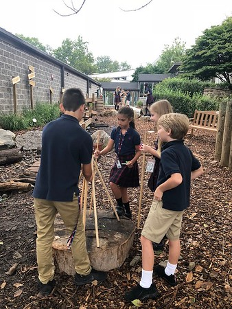 5th Grade Stick-Let Sculptures