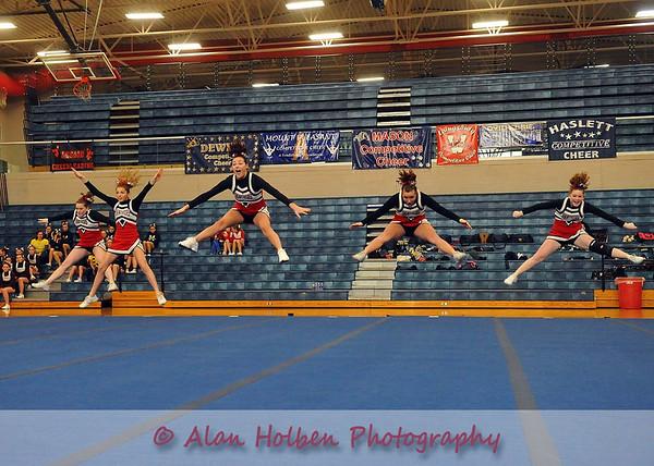 Cheer at Mason Feb 4 - Addison varsity - Round 2