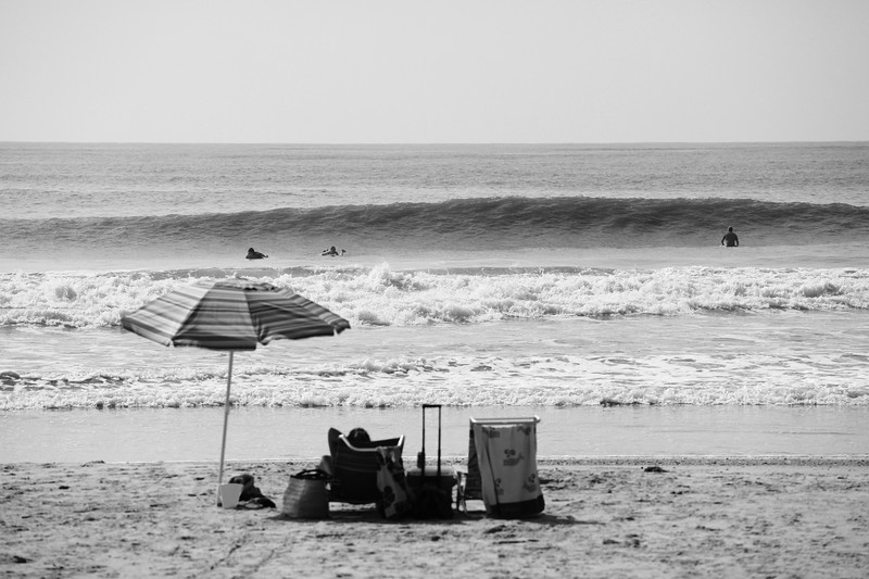 Hurricane Earl.  This photo was taken at 11:30.  I was about to get in the water.  Angus was in the world at 1:30.  Had I paddled out, I would have missed the whole shibang.  Love the photo.