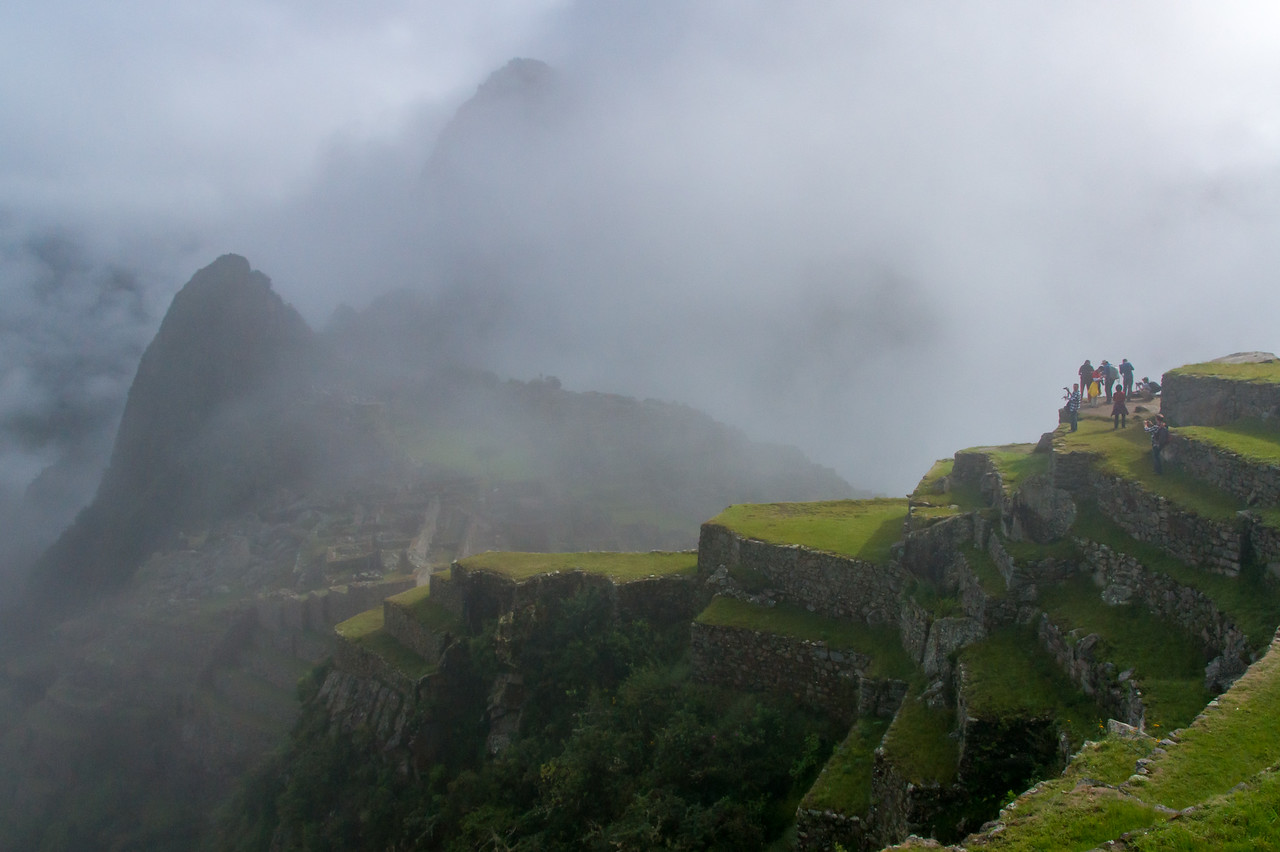 """""""Does the fog always lift?"""", I nervously asked our guide. """"Nope."""""""