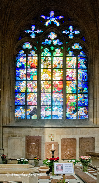 St. Vitus Cathedral stained glass