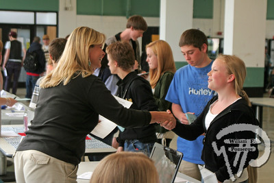NAUSET REG. HIGH SCHOOL — job fair • multi-chambers — Eastham, MA 4 . 30 - 2009