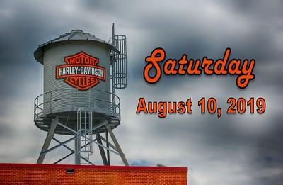 August 10, 2019 - Memorial Ride