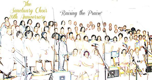 2015 Sanctuary Choir 39th Anniv.